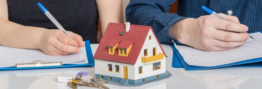 Divorce à l'amiable avec bien immobilier